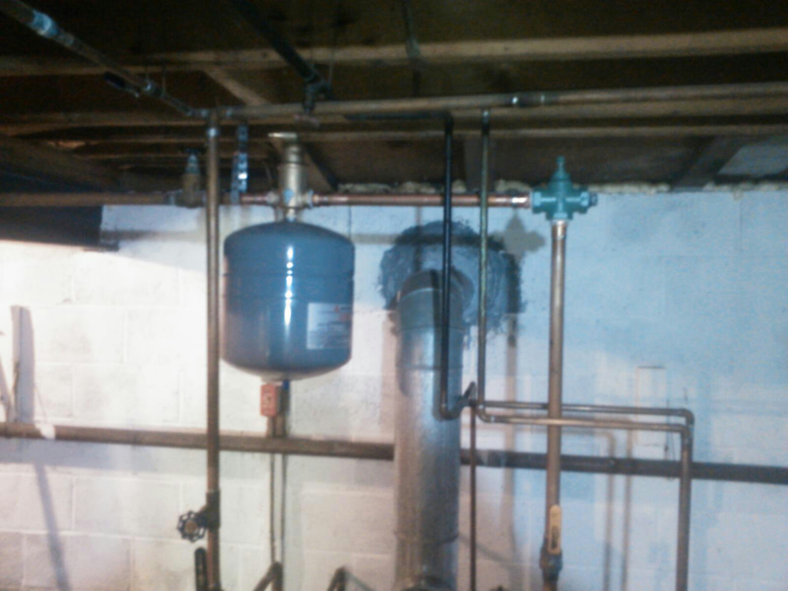 Fredon Township, NJ - Replace spirovent and flow control valve on SlantFin boiler.