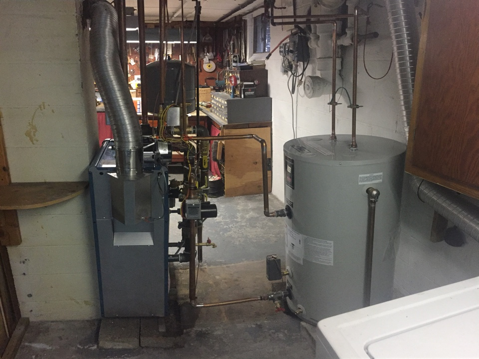 Mine Hill Township, NJ - Installation/Conversion of a Burnham high efficiency ES2 natural gas fired hot water boiler.  Convert from Oil to gas in Mine Hill, NJ.