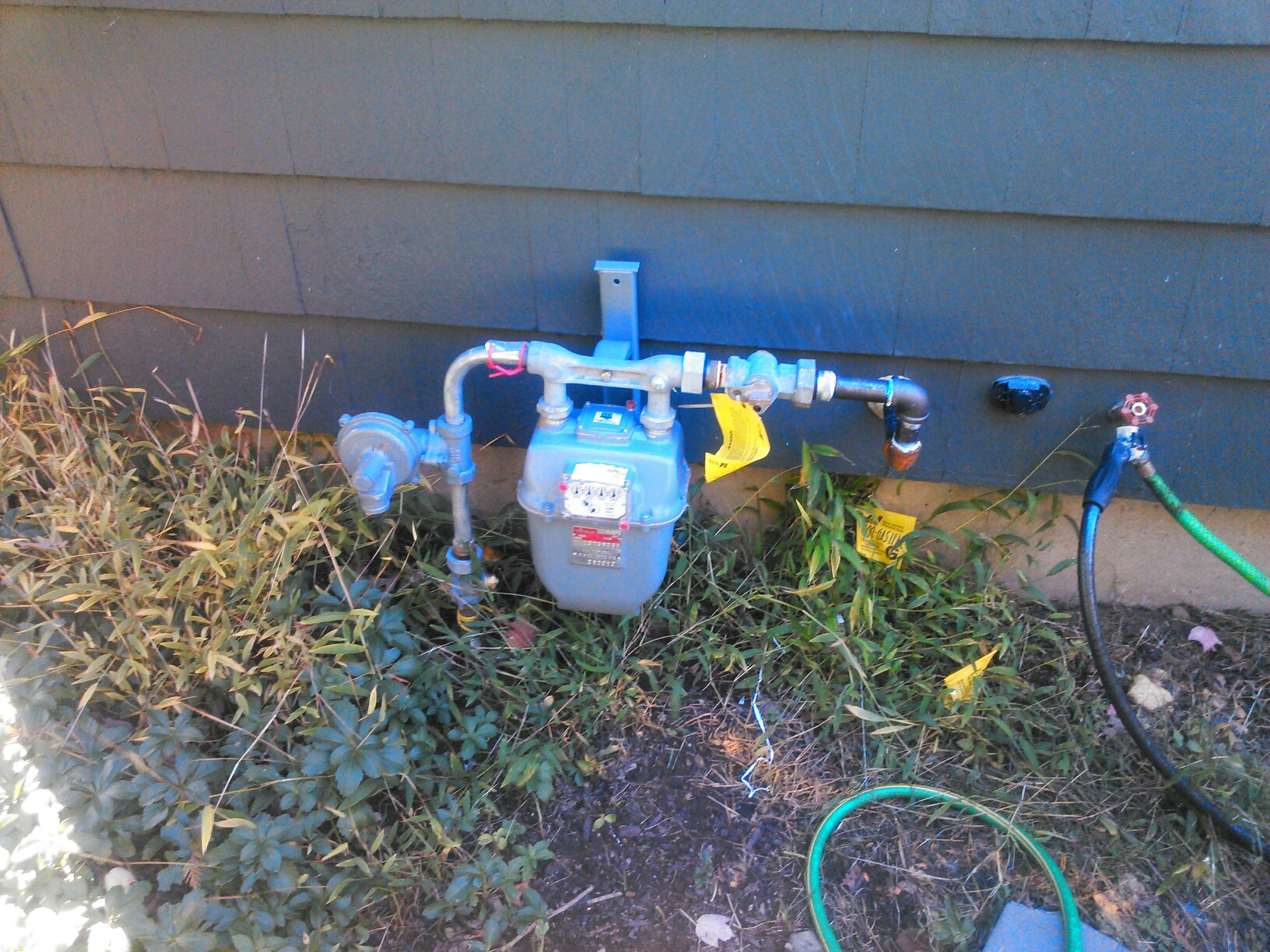 Denville, NJ - Run gas pipe for oil to gas conversion.