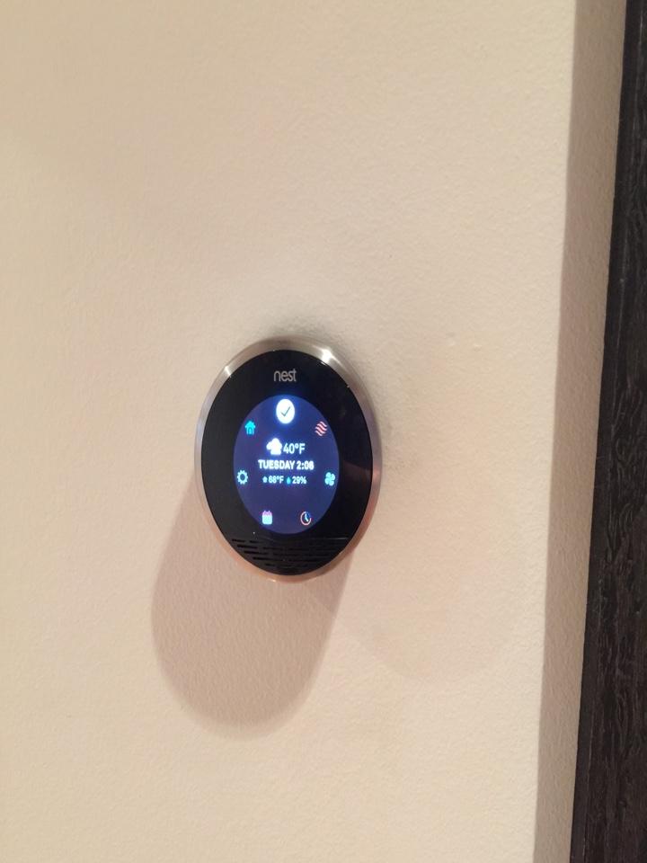 Livingston, NJ - Install/remove Nest thermostat