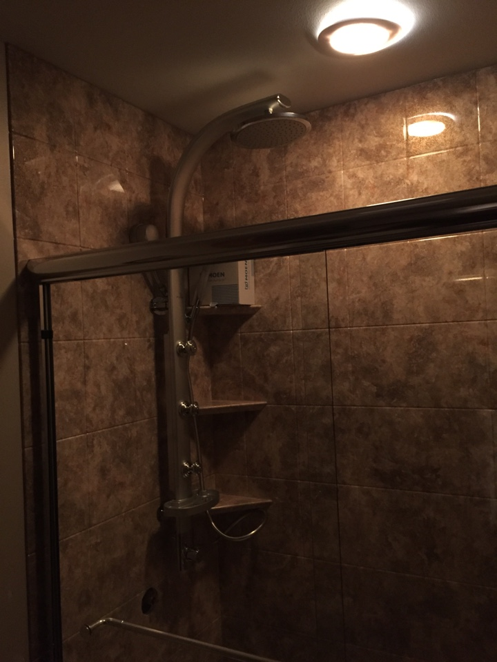 Traverse City, MI - Replacing shower fixture