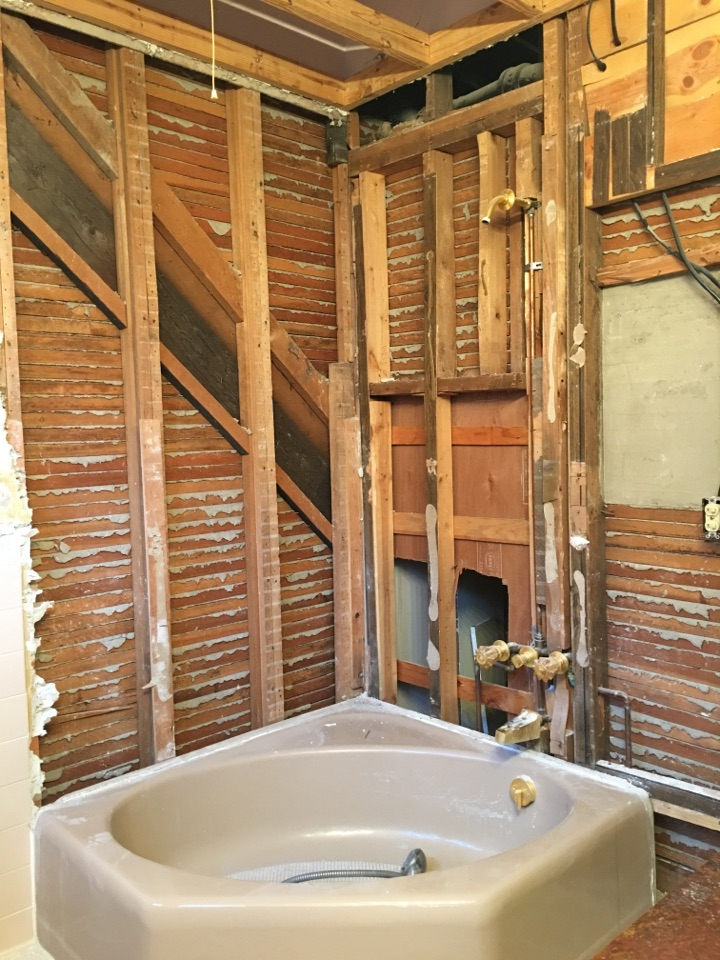 Reed City, MI - Tub to shower Neo-Angle before
