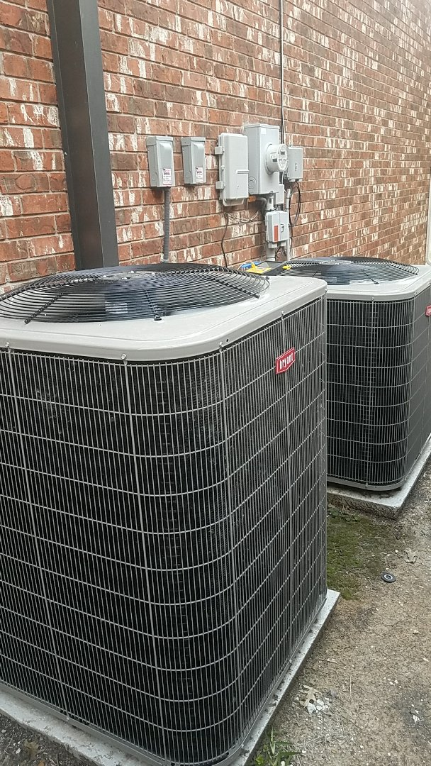 Frisco, TX - Performing an air conditioning check up for our good friends Mr. & Mrs. C, on their 2 Bryant systems at their home in Frisco, TX.