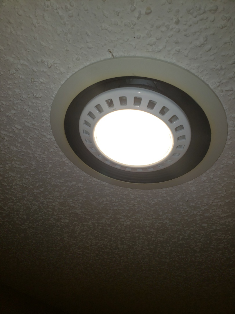 Troubleshoot recessed lighting circuit