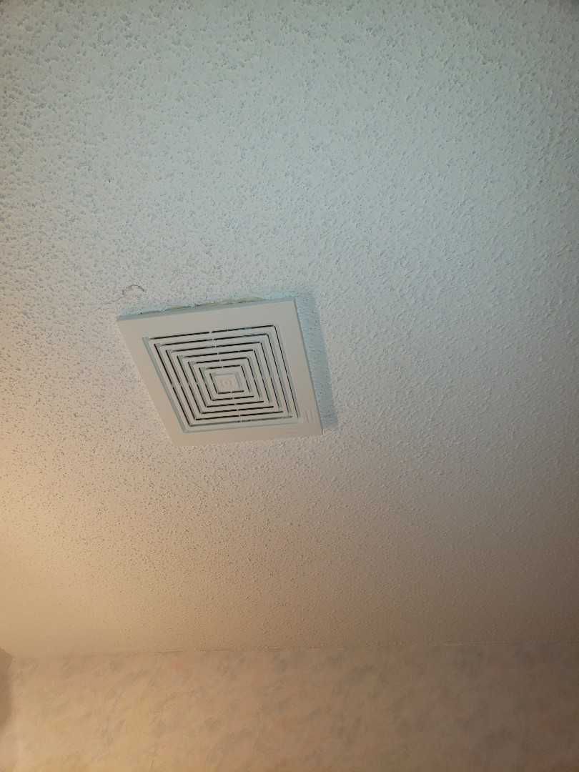 Replace customer supplied exhaust fan