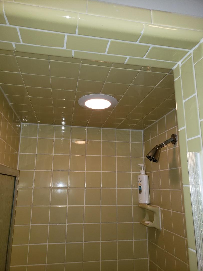 Fix shower light
