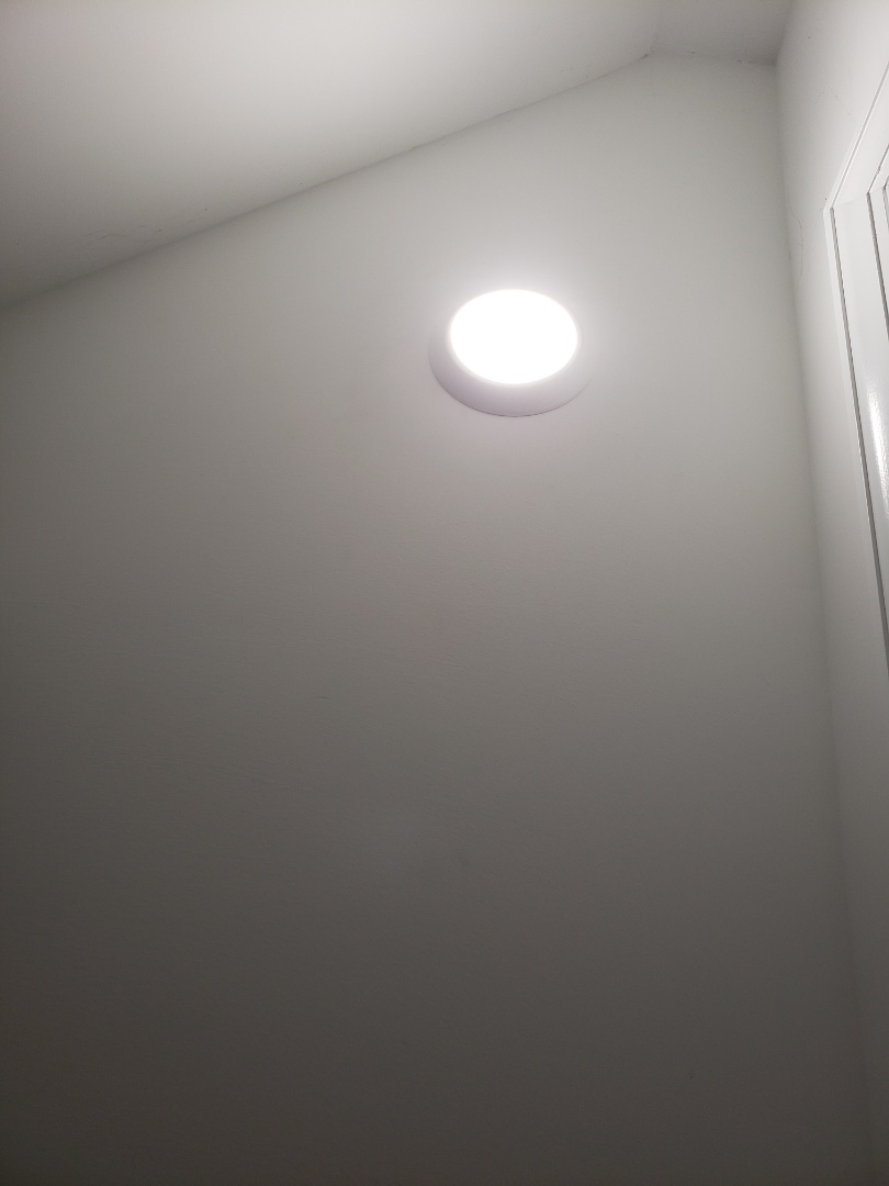 Installing closet light