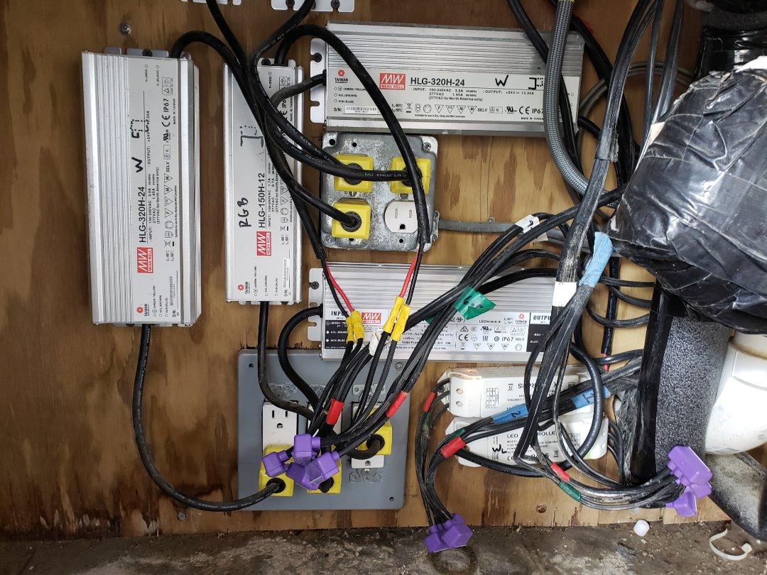 Repair exterior led lights