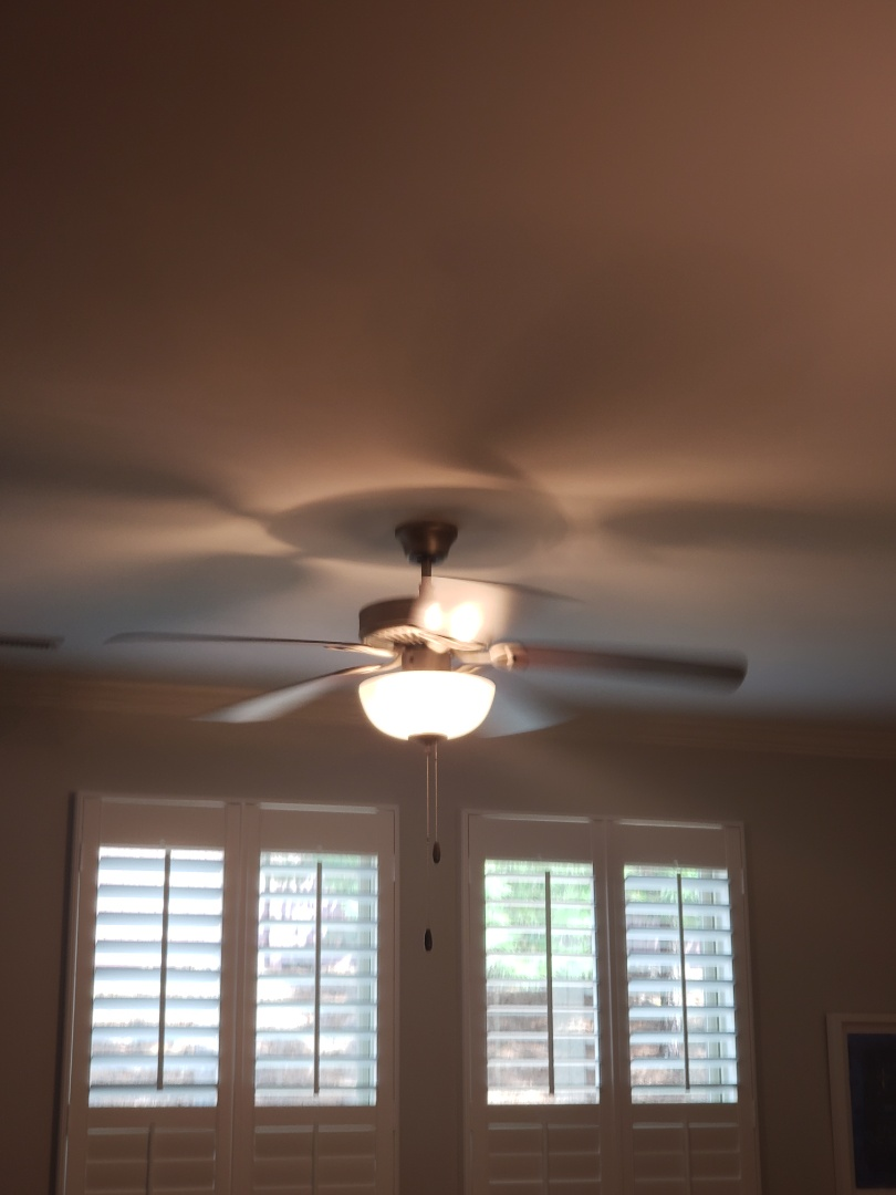 Fixing fans and stove bulbs