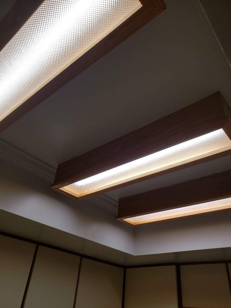 Replacing fluorescent lights with led lights