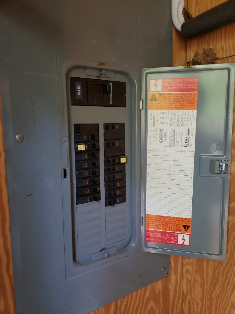 Fix items on inspection report and check electrical panel