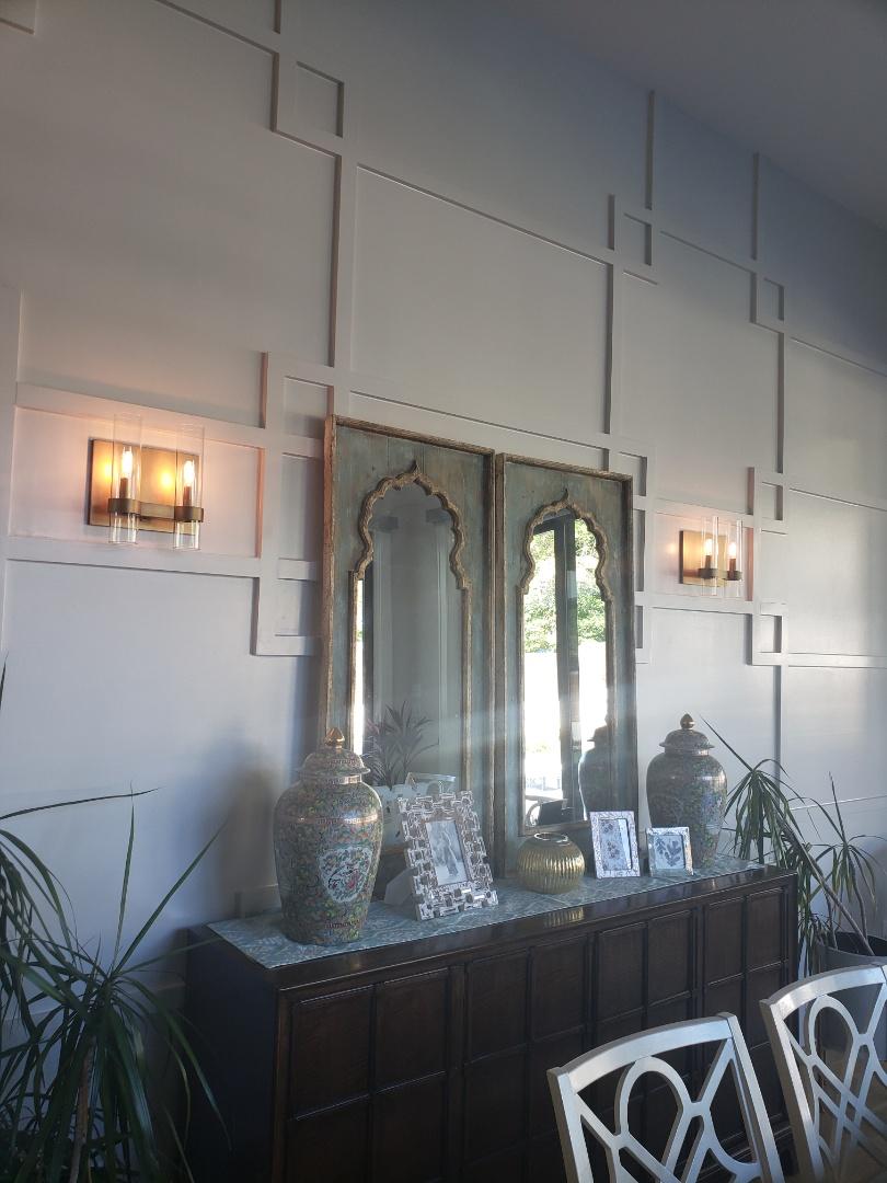 Install customer supplied lights
