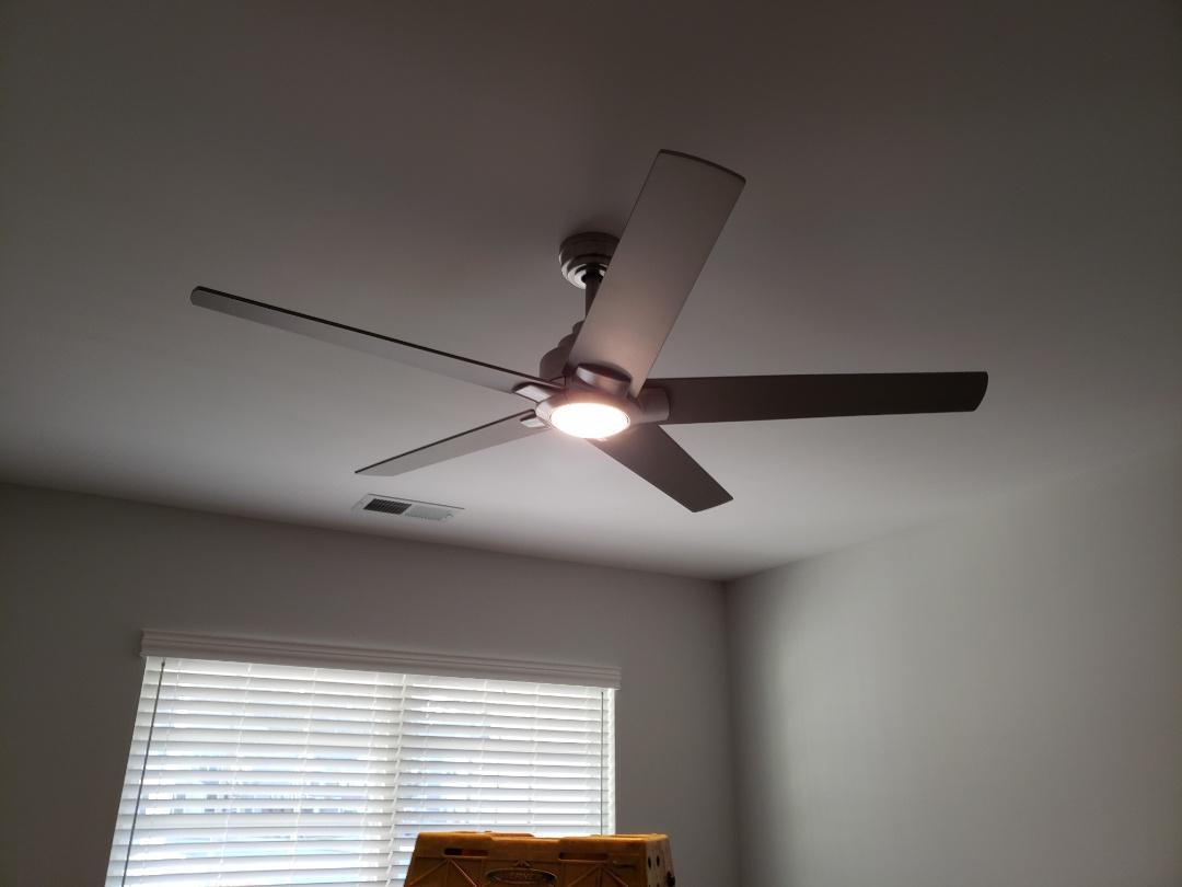 Hanging ceiling fan