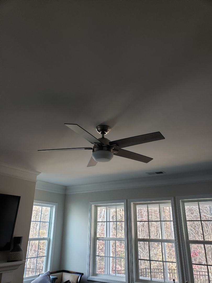Durham, NC - Install customer supplied ceiling fans