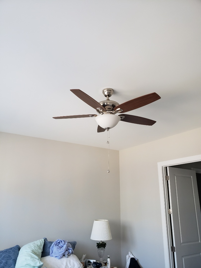 Hang ceiling  fans / run cat5 cables
