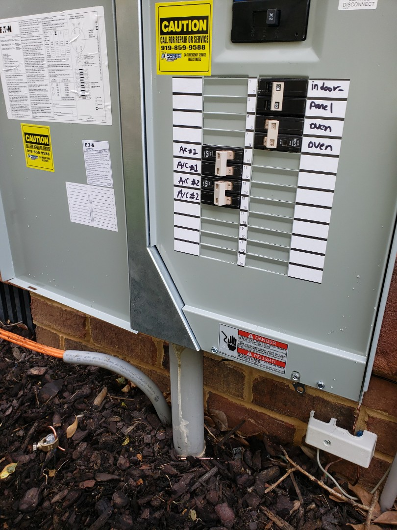 Replace outdoor meter combo