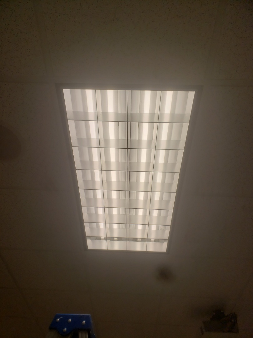 Fix 4 faulty ballasts in 2x4 fluorescent fixtures