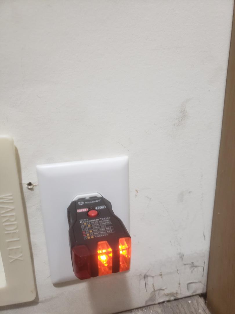 Install new 120v outlet for new gas range