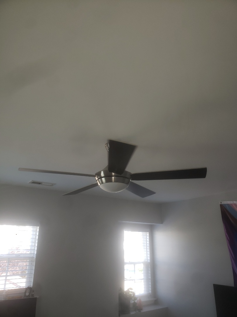 To install customer supplied ceiling fan and lights