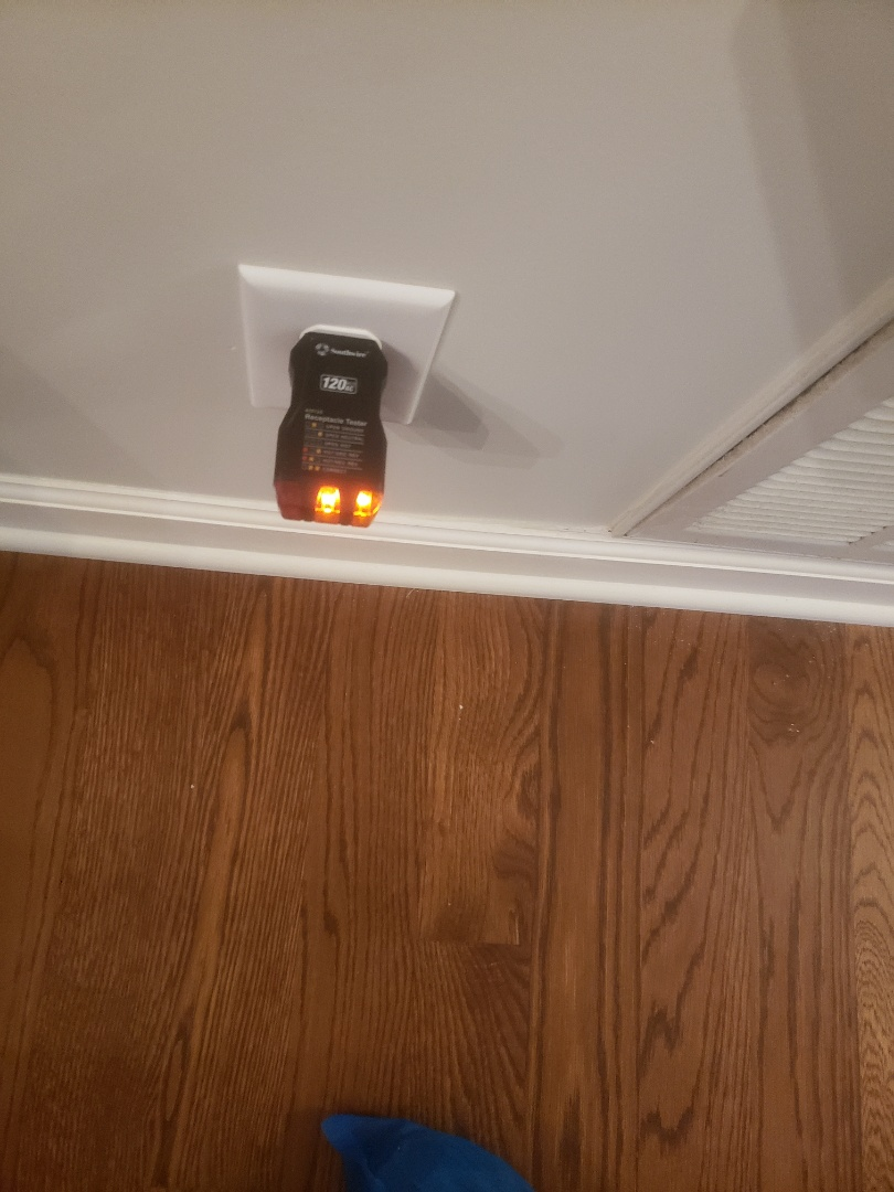 Fixed issues with faulty dining room circuit due to open ground
