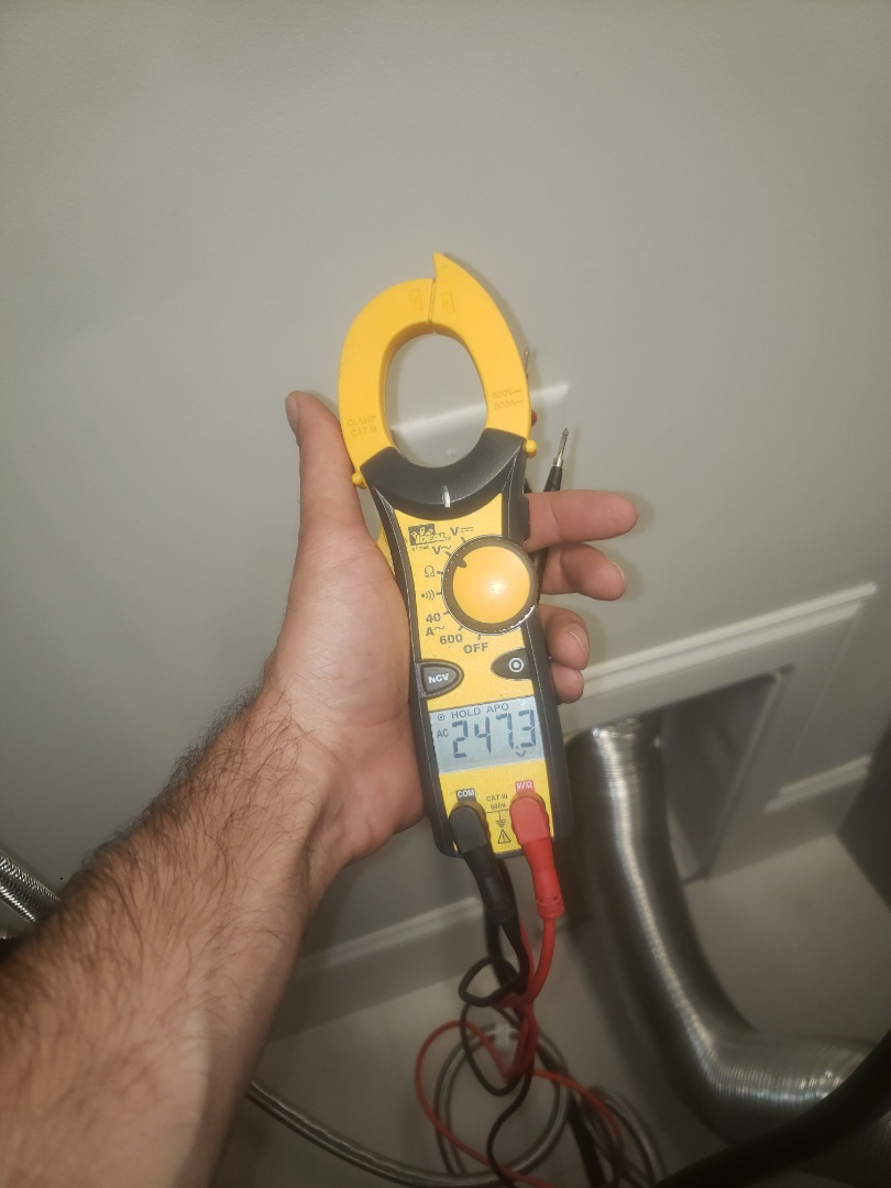 Troubleshoot issues with faulty dryer circuit