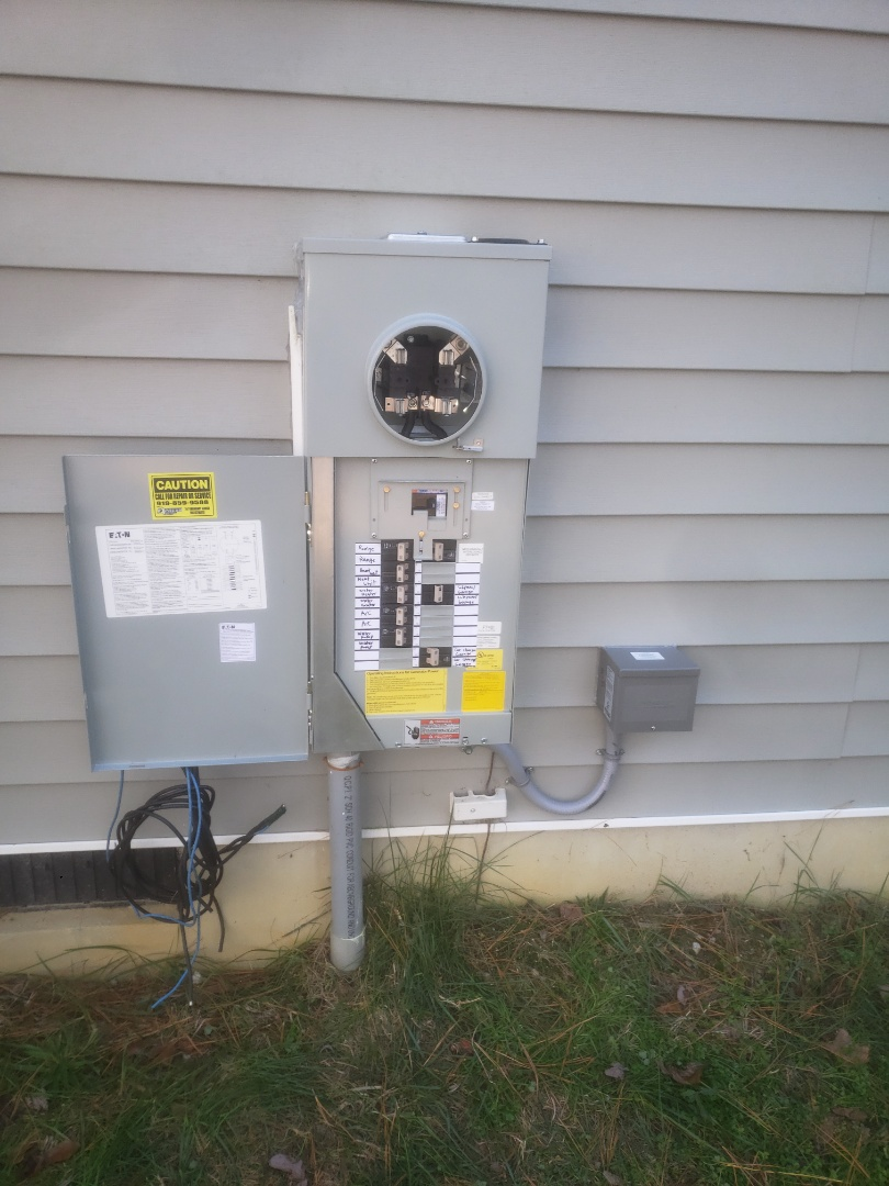 Zebulon, NC - Installed new meter combo, car charger circuit and generator interlock kit