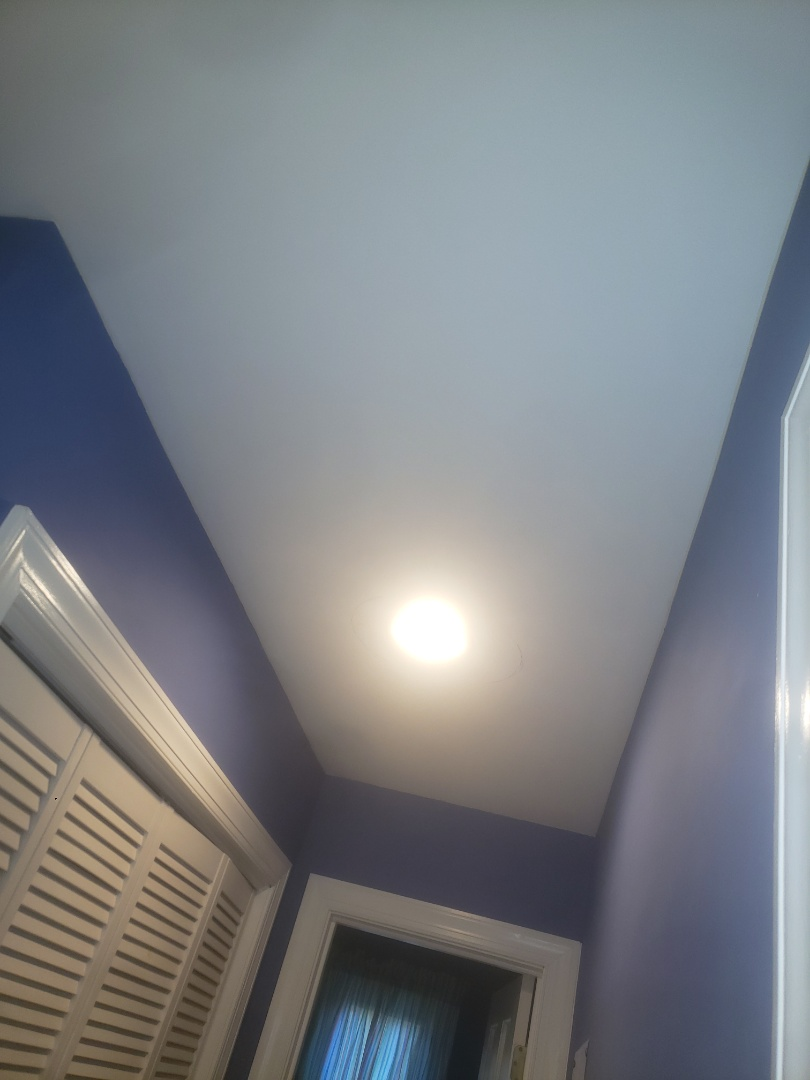 Raleigh, NC - Installed 3 new recessed can lights