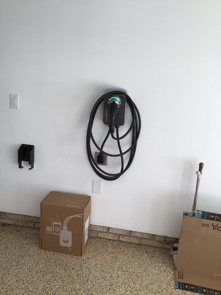 Cary, NC - Install 50 amp car charger n garage