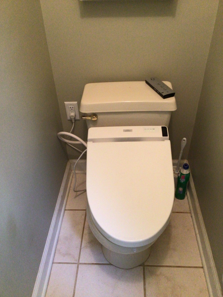 Replace receptacles, install bidet outlet, & run Ethernet line.