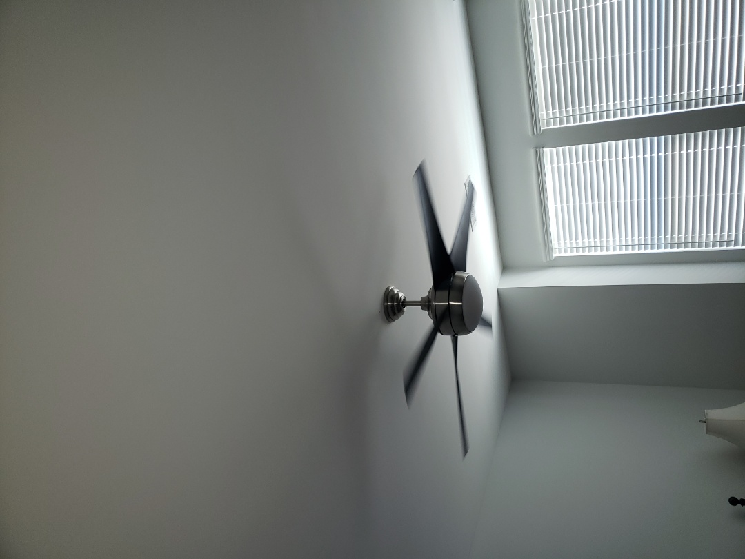Durham, NC - Installed 5 customer supplied ceiling fans and 3 hanging fixtures