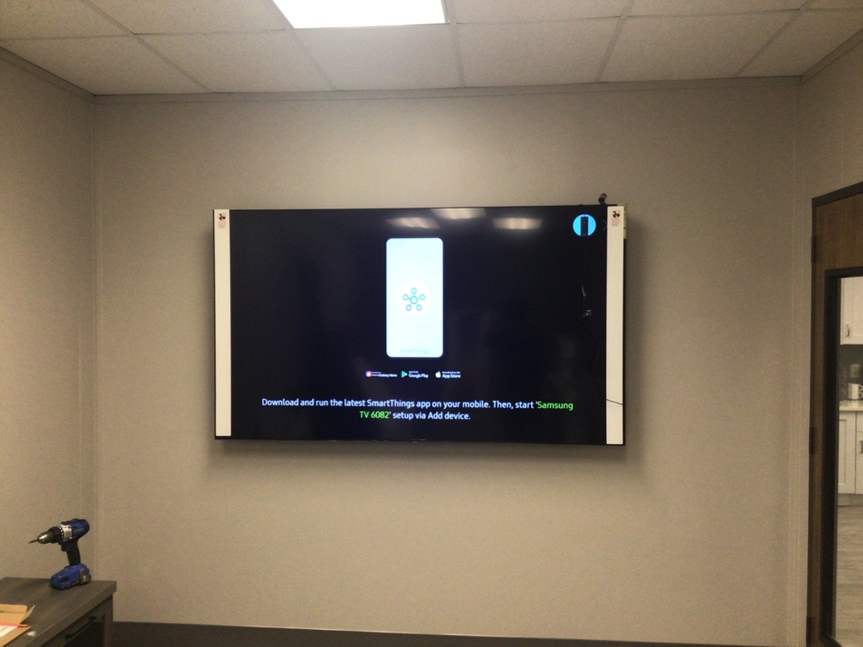 Fuquay-Varina, NC - Install new TV's and power for new office & conference rooms.