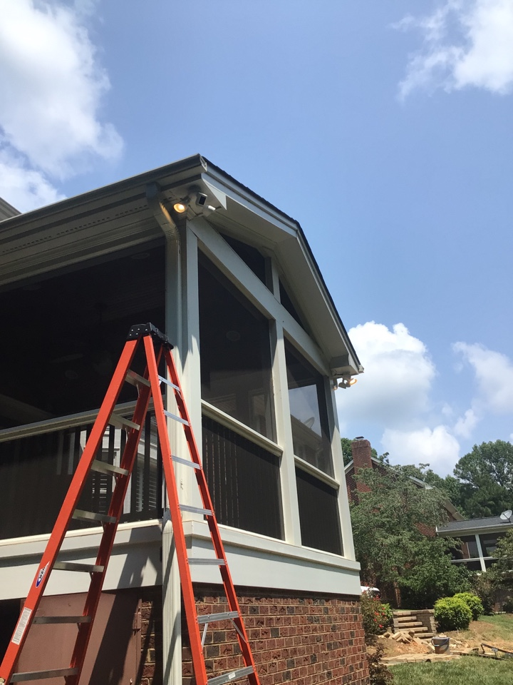 Raleigh, NC - Install new Ring flood lights.