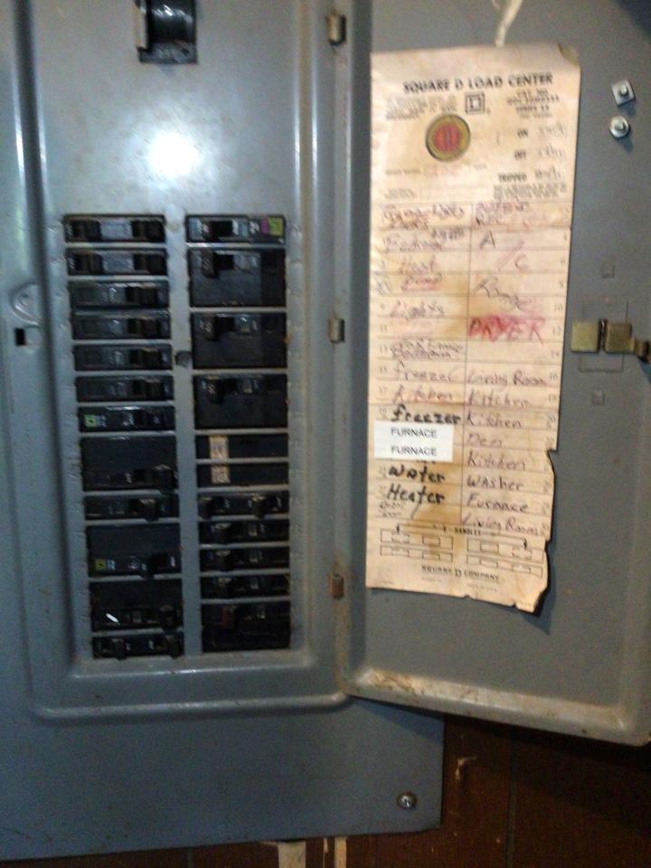 Garner, NC - Installed 50 amp furnace circuit.