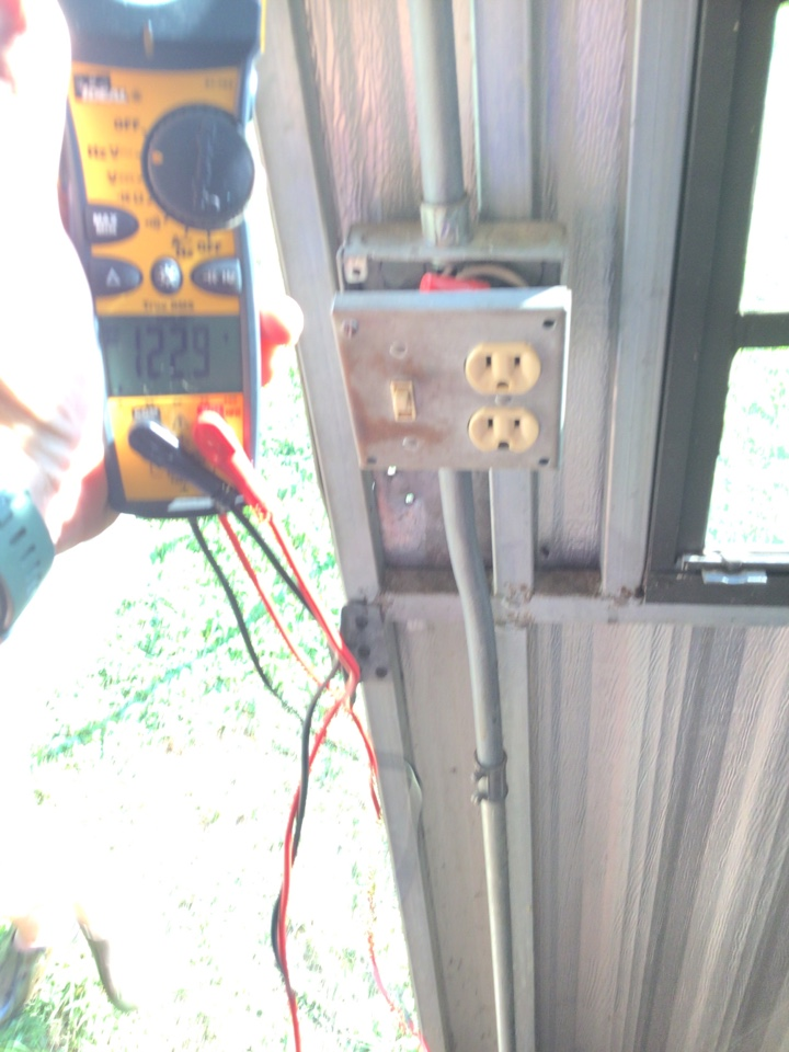 Durham, NC - Troubleshoot and repair shed circuit.