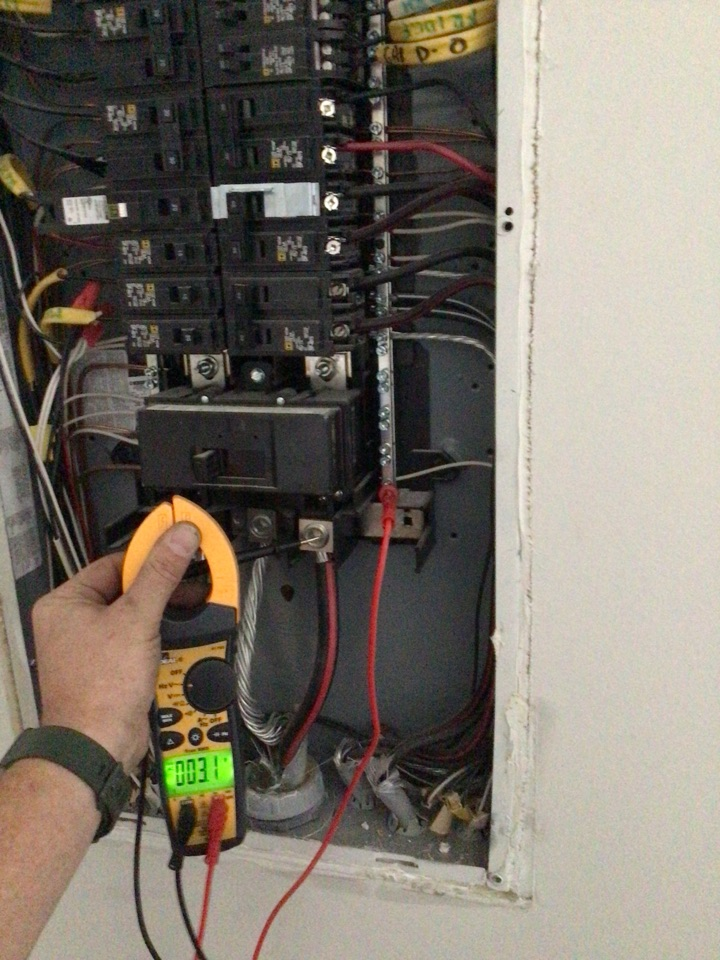 Troubleshoot power loss to house.