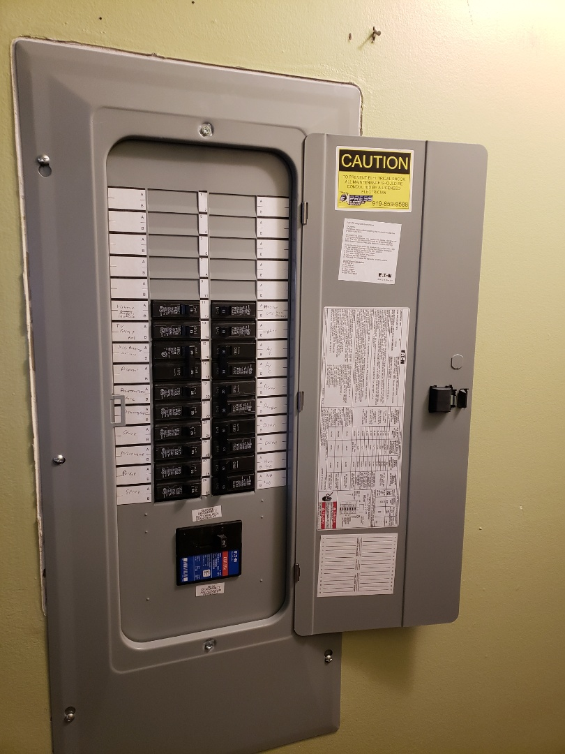 Replace indoor panel with a new one