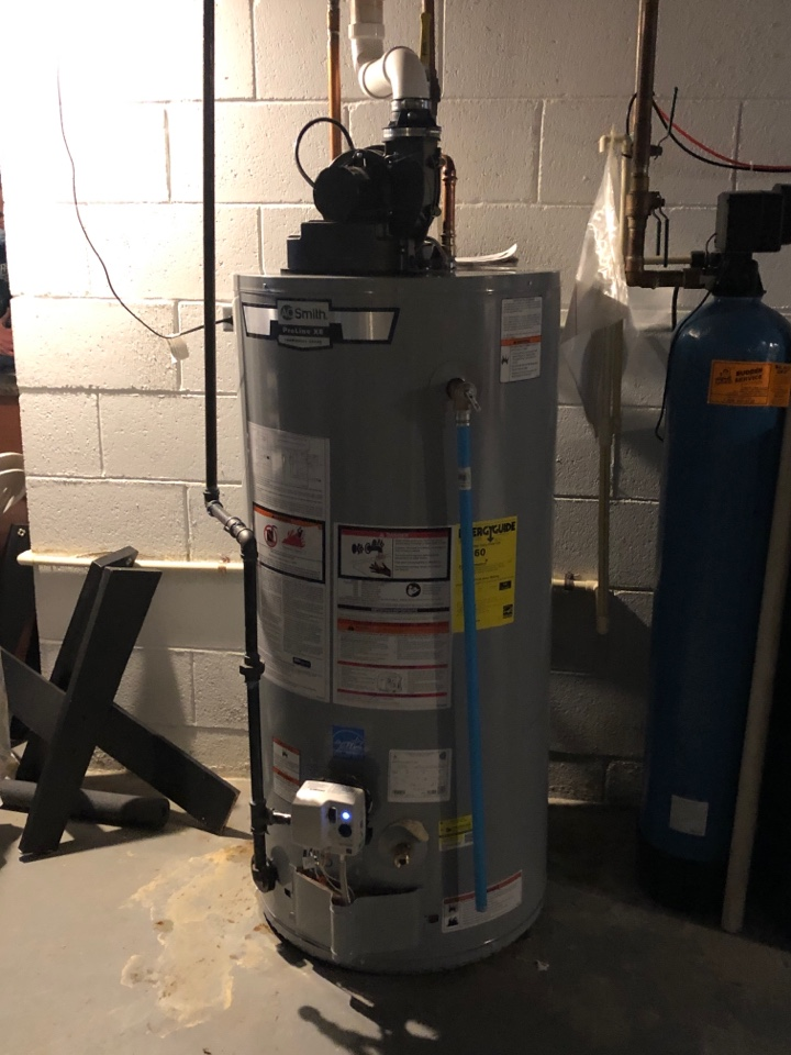 Brookfield, WI - Performed new AO Smith Water Heater Install.