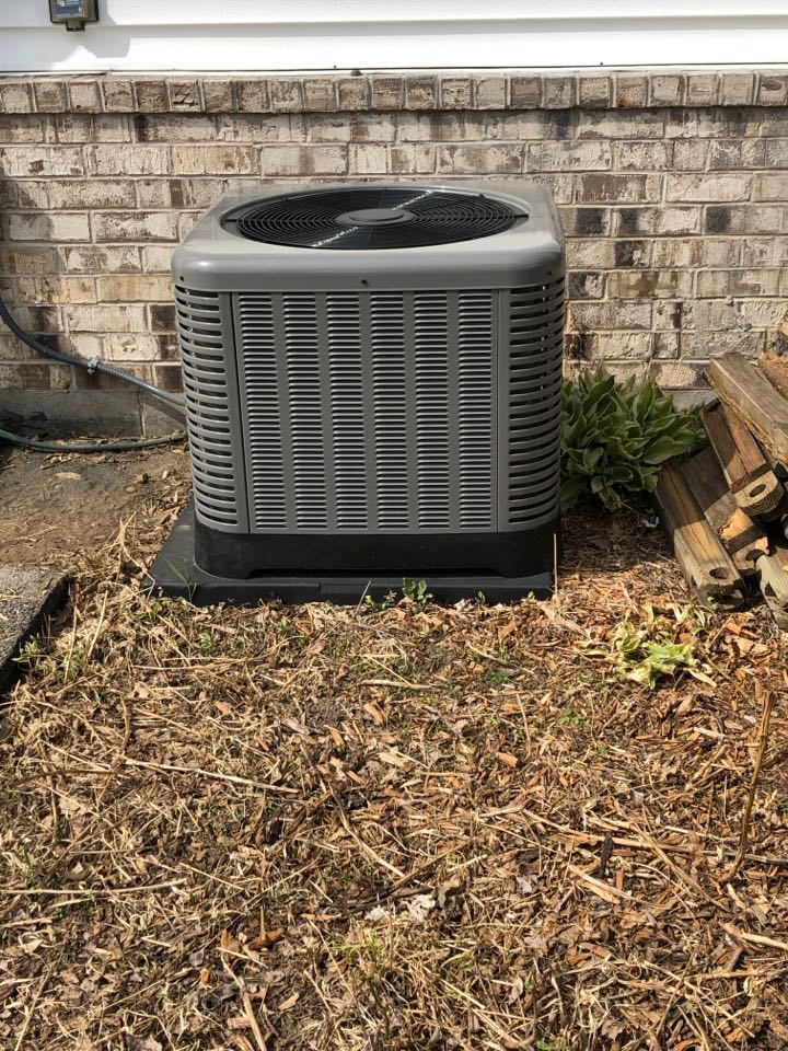 Sussex, WI - Cooling Call. Start up on Rheem Air Conditioner.