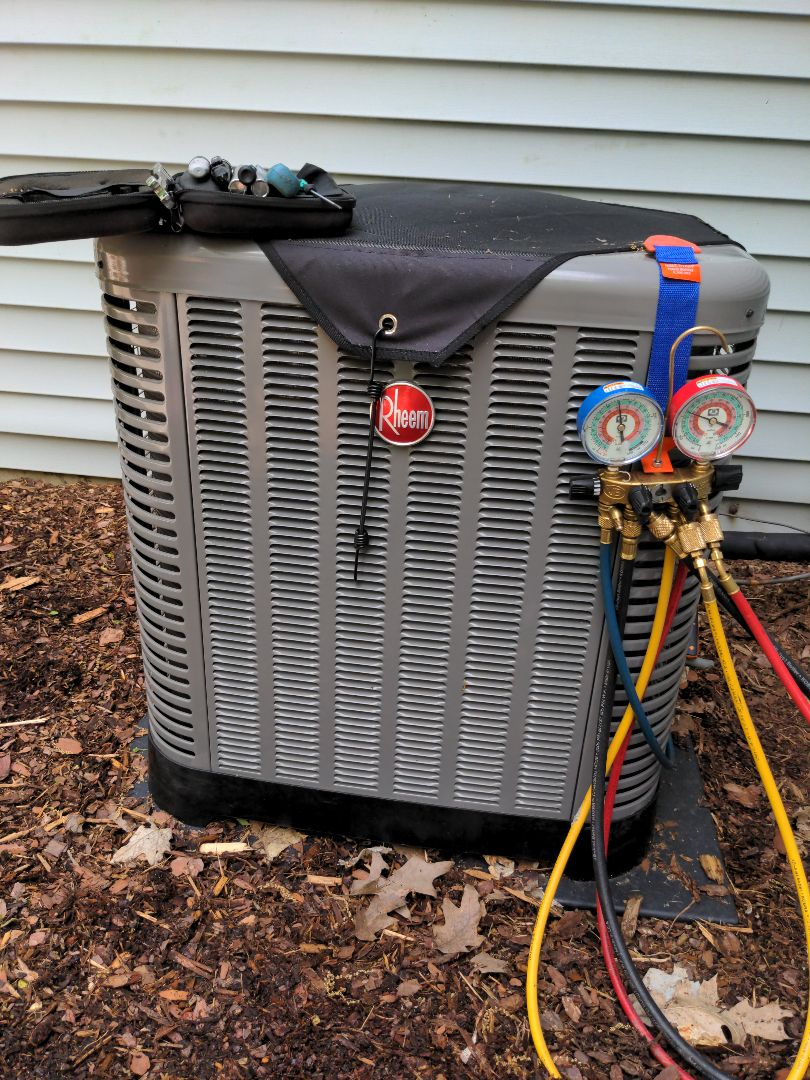 Waukesha, WI - Rheem air conditioner install
