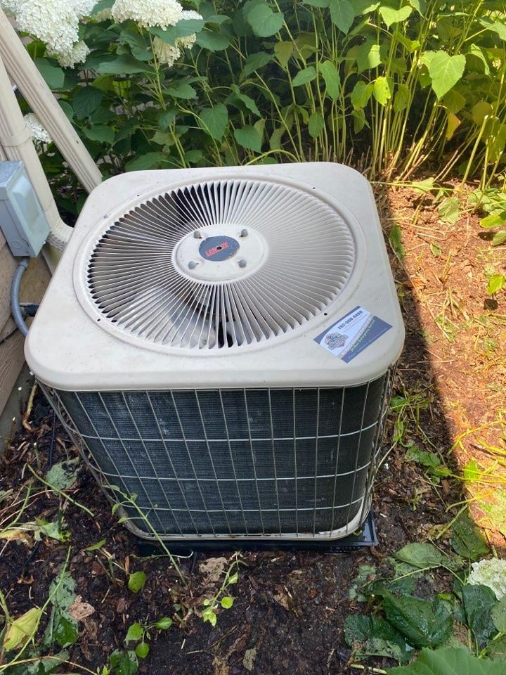 Lennox air conditioner repair.