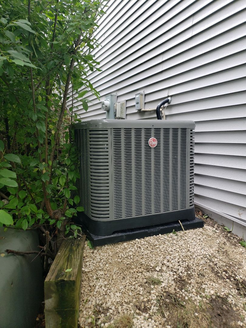Rheem Furnace and AC Install