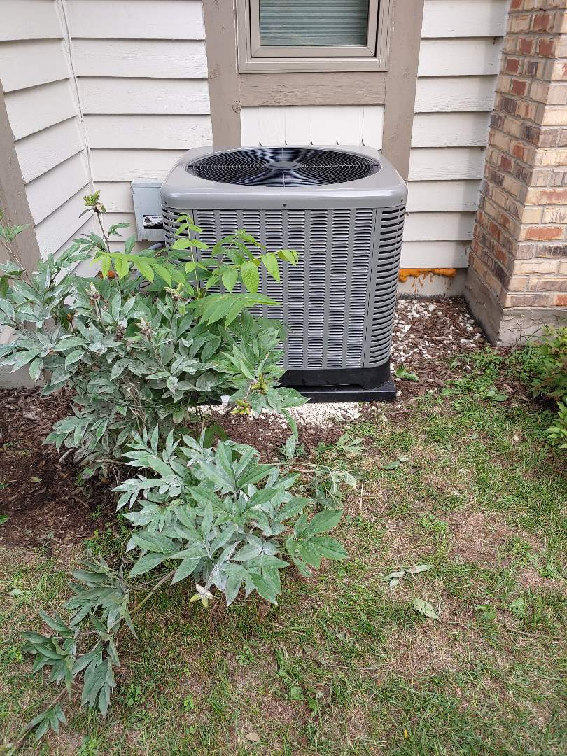 Mequon, WI - Install rheem air conditioner
