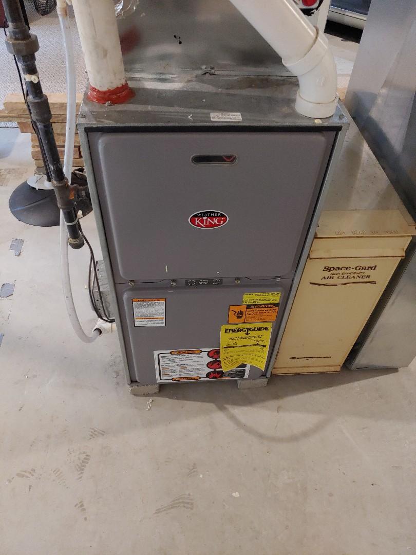 Brookfield, WI - Maintenance on weatherking furnace