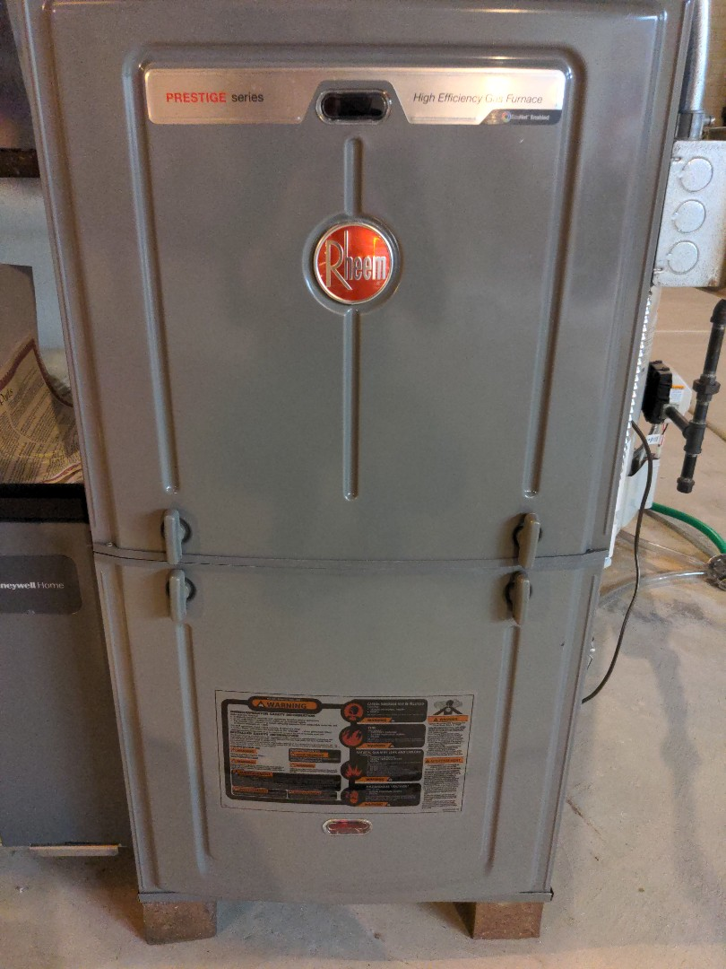 Grafton, WI - Rheem furnace tune up/ maintenance