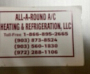 Wills Point, TX - Meeting with All-A-Round A/C about Cornerstone Local.