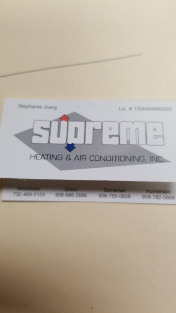 Training Supreme Heating and Air Conditioning on Cornerstone Local.