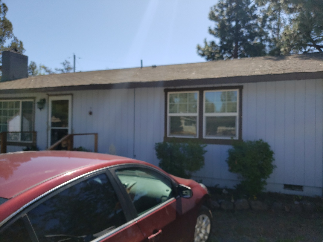 Bend, OR - Replacing a composition roof due to hail damage.  Bidding GAF TIMBERLINE  and exposed fastener for the sheds.