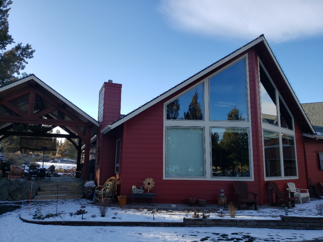 Bend, OR - Replacing the hail damaged GAF TIMBERLINE roof.