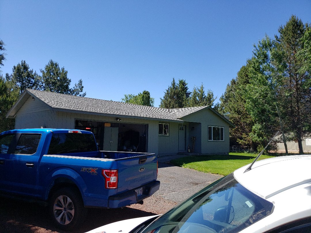 Bend, OR - Bidding to replace the composition roof with GAF TIMBERLINE and insulation and increased ventilation.