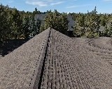 Redmond, OR - Another beautiful installation by Deschutes Roofing Company using GAF Timberline HDZ Ultra Barkwood